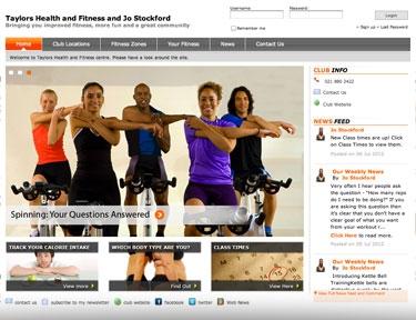 Gym Website Marketing