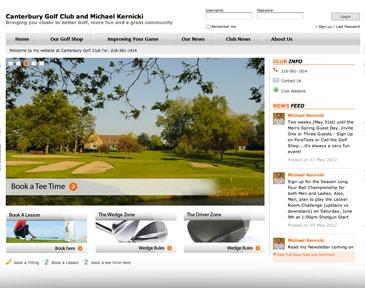 Golf Website Marketing